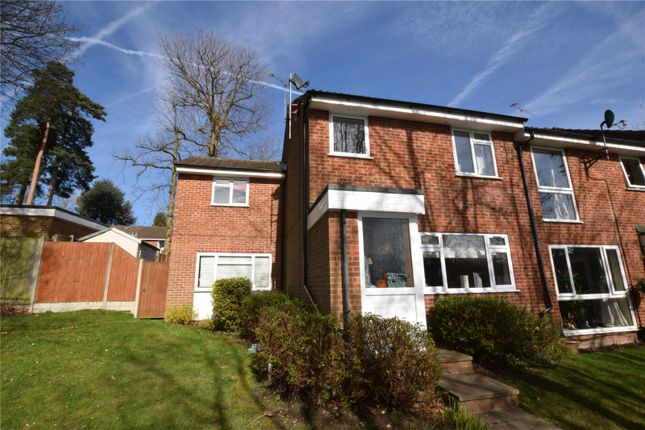 Thumbnail End terrace house for sale in Inglewood Avenue, Camberley, Surrey