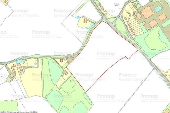 Thumbnail Land for sale in Witham Road, Hawbush Green, Braintree, Essex