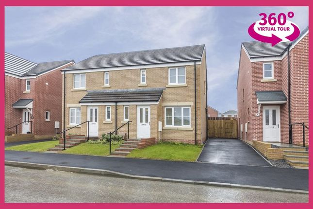 Thumbnail Semi-detached house for sale in Maes Y Glo, Llanelli