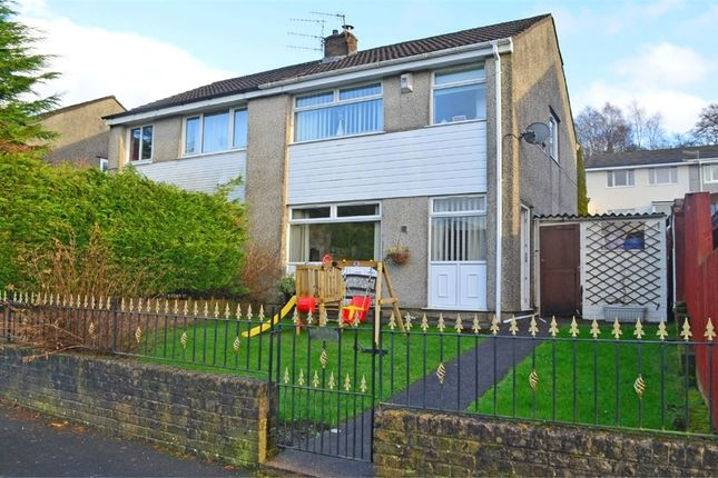 Thumbnail Semi-detached house for sale in St Annes Gardens, Maesycwmmer, Hengoed, Caerphilly