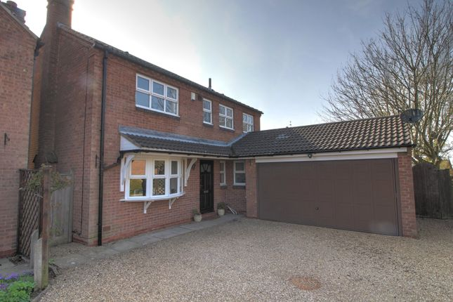 Thumbnail Detached house for sale in Firs Close, Houghton-On-The-Hill, Leicester
