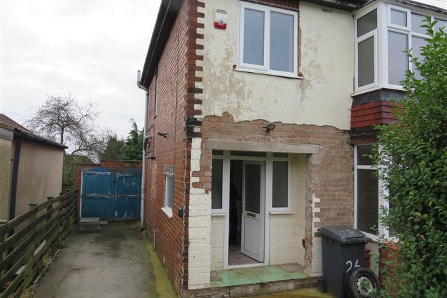 Thumbnail Semi-detached house for sale in Jubilee Road, Whitwell, Worksop