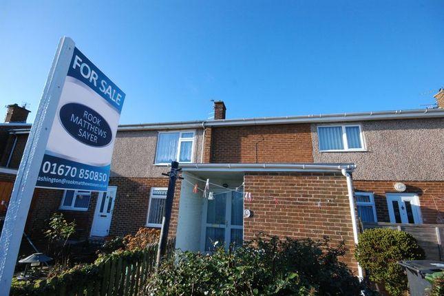 Thumbnail Flat for sale in Holmdale, Ashington