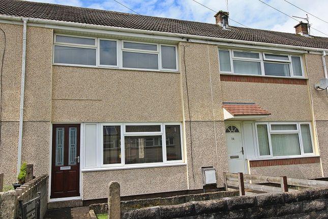 Thumbnail Terraced house for sale in Centenary Court, Beddau, Pontypridd, Rhondda, Cynon, Taff.
