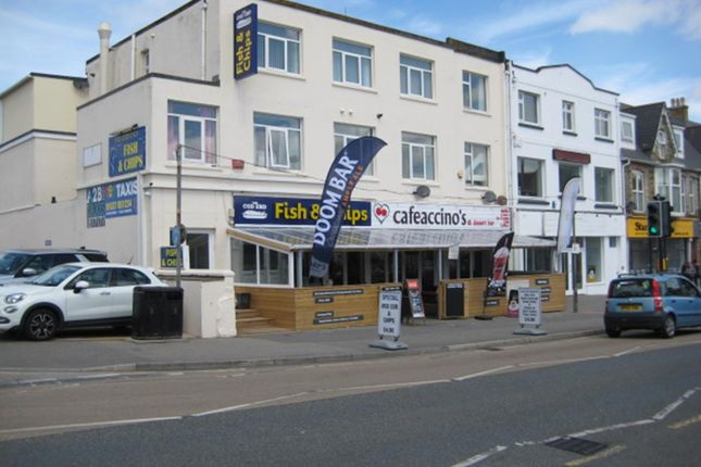 Thumbnail Restaurant/cafe for sale in 9 Cliff Road, Newquay, Cornwall
