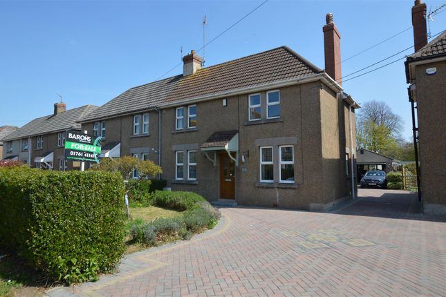 Thumbnail Semi-detached house for sale in Manor Terrace, Writhlington, Radstock