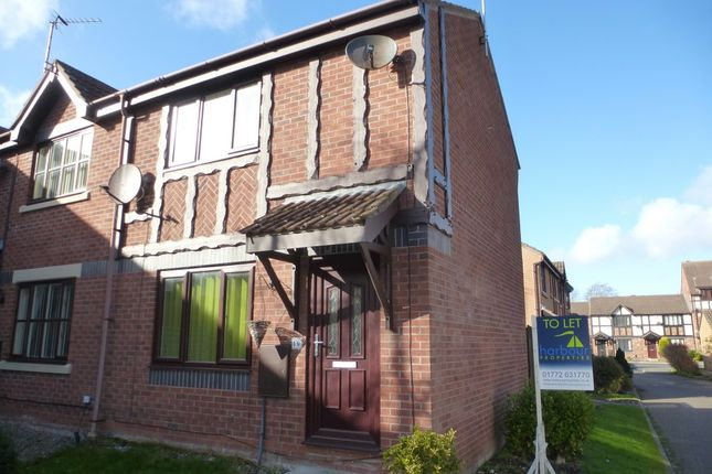 Thumbnail Town house to rent in Gilderdale Court, Lytham St. Annes