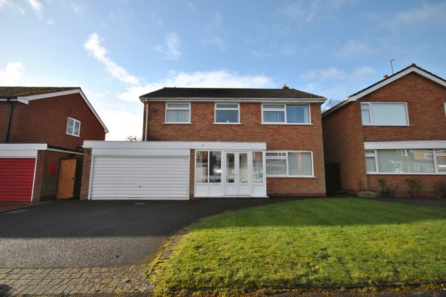 Thumbnail Detached house for sale in Fowgay Drive, Solihull, West Midlands