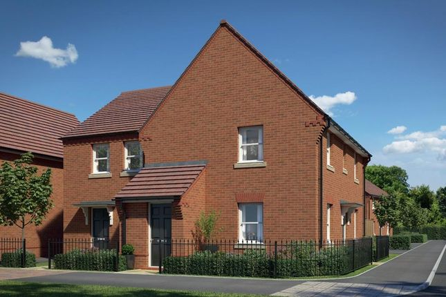 """Thumbnail Semi-detached house for sale in """"Oakley"""" at Vickers Way, Warwick"""