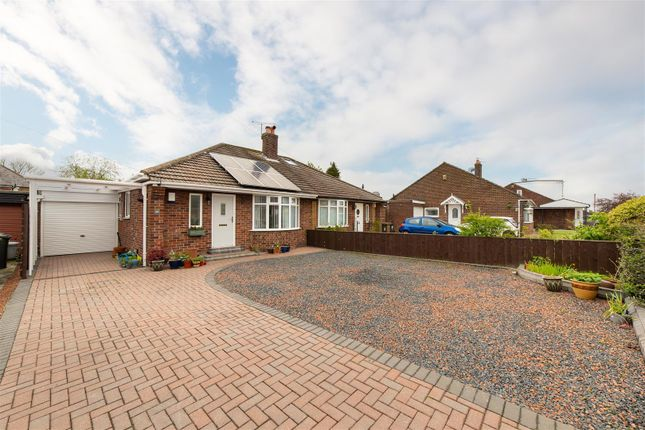 Thumbnail Semi-detached bungalow for sale in Worcester Way, Wideopen, Newcastle Upon Tyne