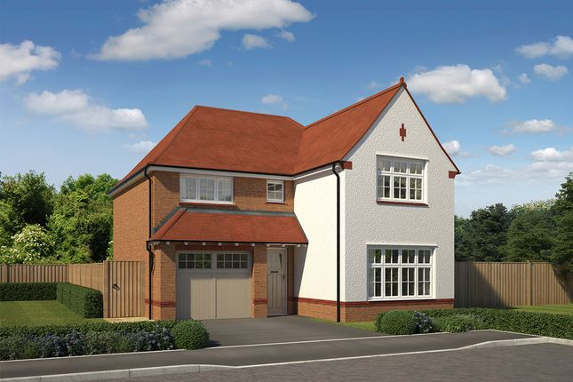 "Thumbnail Detached house for sale in ""Marlow"" at Littledown, Shaftesbury"