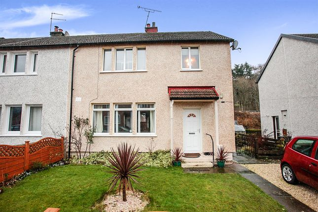 Terraced house for sale in Ballochan Road, Auldgirth, Dumfries