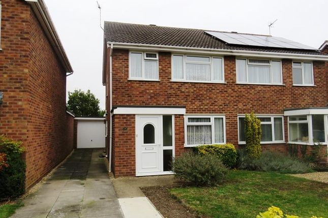 3 bed semi-detached house for sale in Locksgate, Somersham, Huntingdon