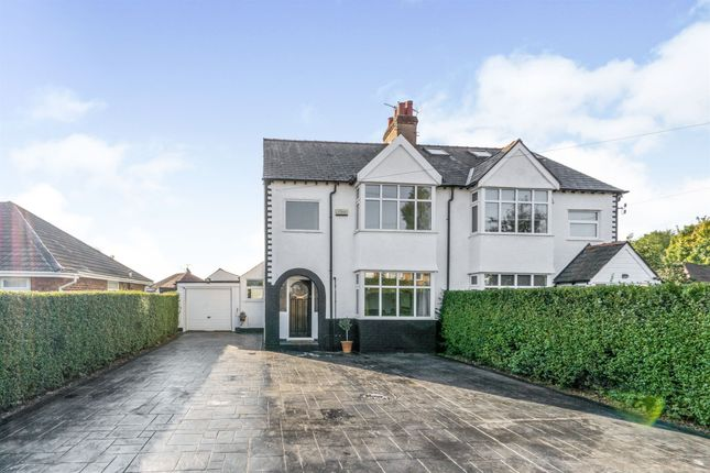 Thumbnail Semi-detached house for sale in Fishers Lane, Pensby, Wirral