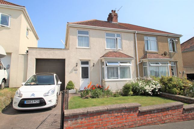 Thumbnail Semi-detached house for sale in Raeburn Road, Hanham, Bristol