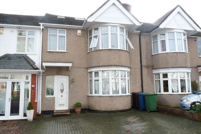 Thumbnail Terraced house for sale in Brampton Grove, Kenton