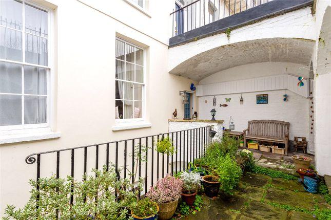 Courtyard of Royal York Crescent, Clifton, Bristol BS8