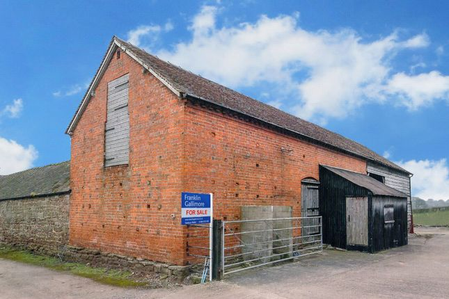 Thumbnail Commercial property for sale in Field Lane, Little Hereford
