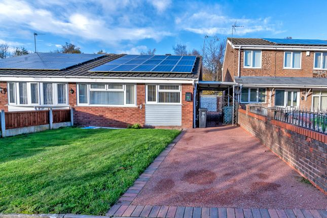 2 bed semi-detached bungalow for sale in Heather Grove, Willenhall WV12