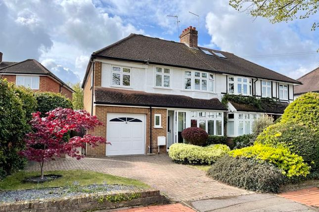 Thumbnail Semi-detached house for sale in Torrington Road, Claygate, Esher