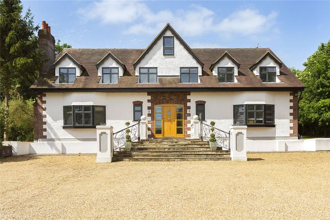 Thumbnail Detached house for sale in Stapleford Road, Stapleford Abbotts, Romford, Essex