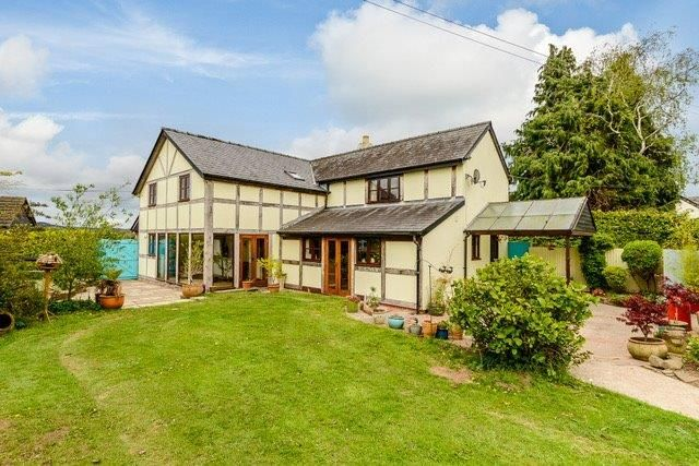 Thumbnail Detached house for sale in Madley, Hereford