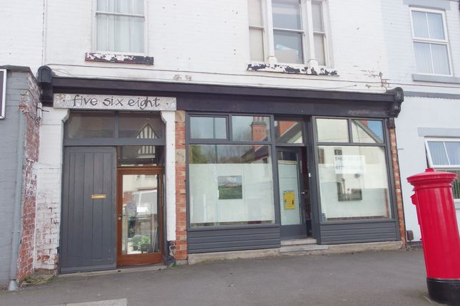 Retail premises to let in Woodborough Road, Mapperley, Nottingham