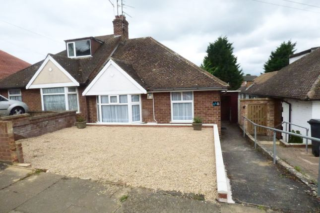 Thumbnail Bungalow for sale in Delamere Road, Northampton
