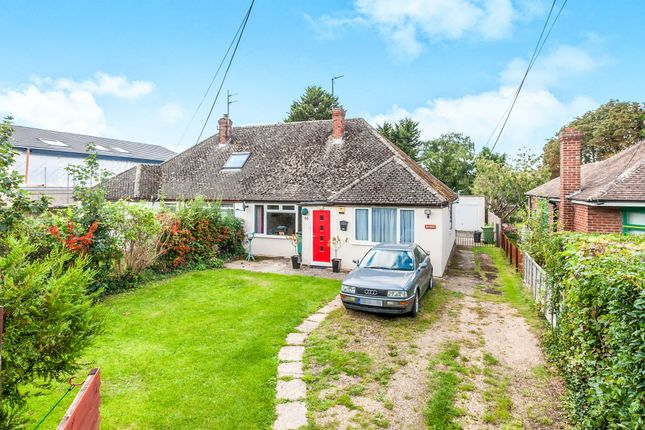 Thumbnail Semi-detached bungalow for sale in Harwell Road, Sutton Courtenay, Abingdon