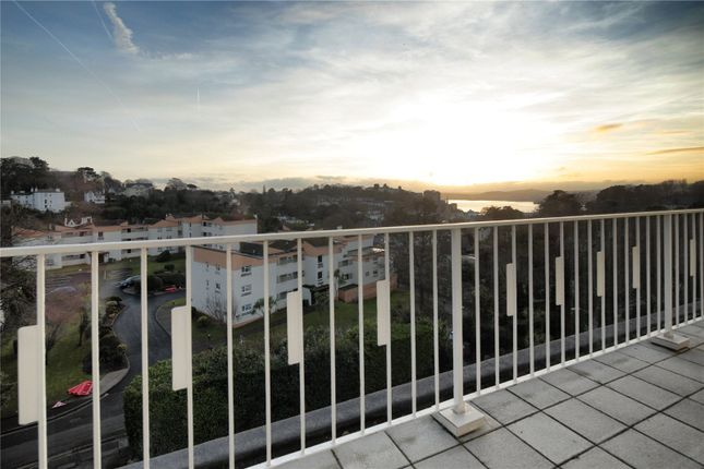 Thumbnail Flat for sale in Torwood Court, Old Torwood Road, Torquay, Devon