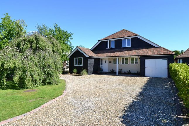 Thumbnail Detached house for sale in The Drive, Chestfield, Whitstable