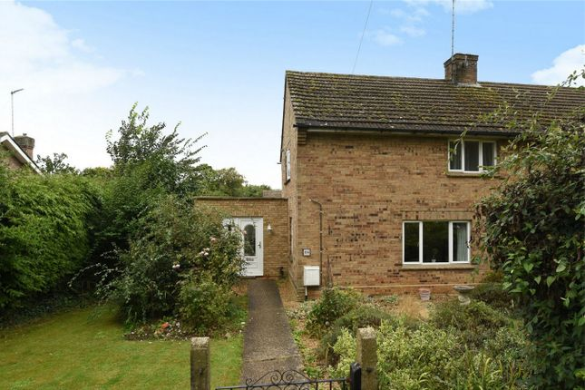Thumbnail End terrace house for sale in Loring Road, Sharnbrook, Bedford