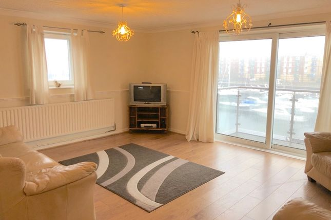 Thumbnail Flat to rent in Squire Court, Victoria Quay, Maritime Quarter, Swansea