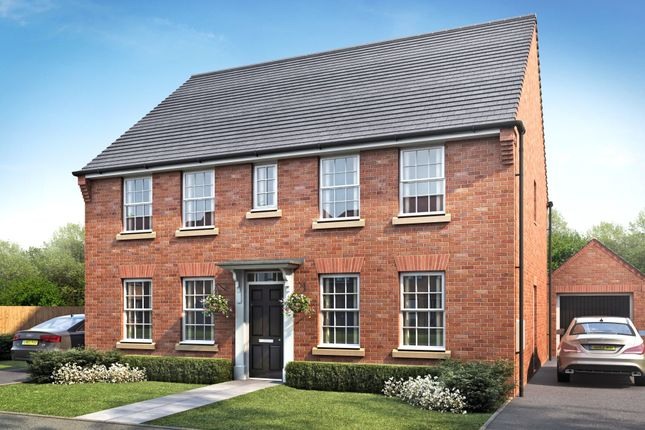 "Thumbnail Detached house for sale in ""Chelworth"" at Cadhay, Ottery St. Mary"