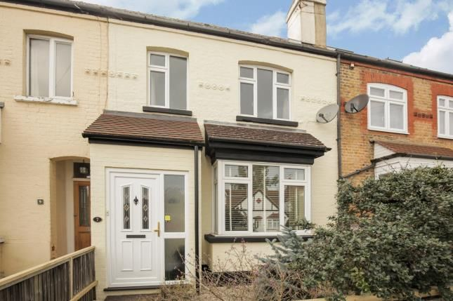 Thumbnail Terraced house for sale in Byfleet, Surrey