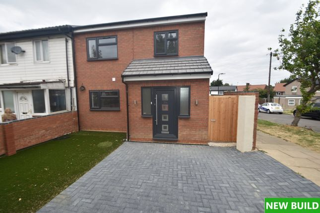 Thumbnail End terrace house for sale in Newnham Close, Northolt