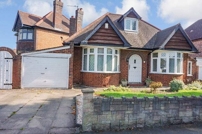 Thumbnail Detached bungalow for sale in Berkswell Road, Erdington, Birmingham
