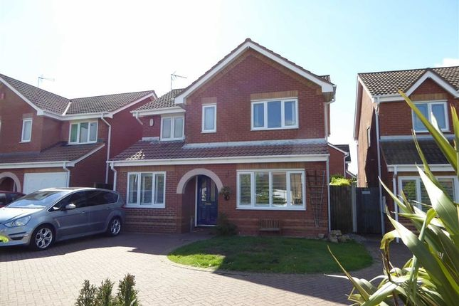 Thumbnail Detached house for sale in Cicero Approach, Heathcote, Warwick