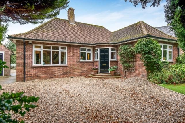 Thumbnail Bungalow for sale in Thorpe End, Norwich, Norfolk