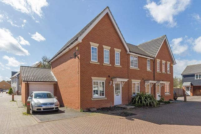 Thumbnail End terrace house to rent in Bismuth Drive, Sittingbourne