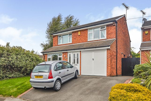 Thumbnail Detached house for sale in Willington Road, Etwall, Derby
