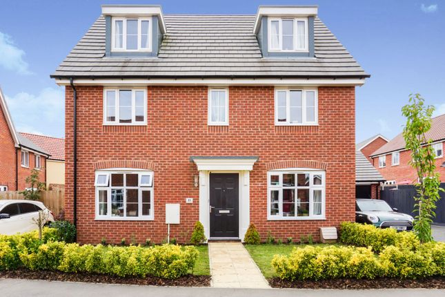 Thumbnail Detached house for sale in Sassoon Crescent, Stowmarket