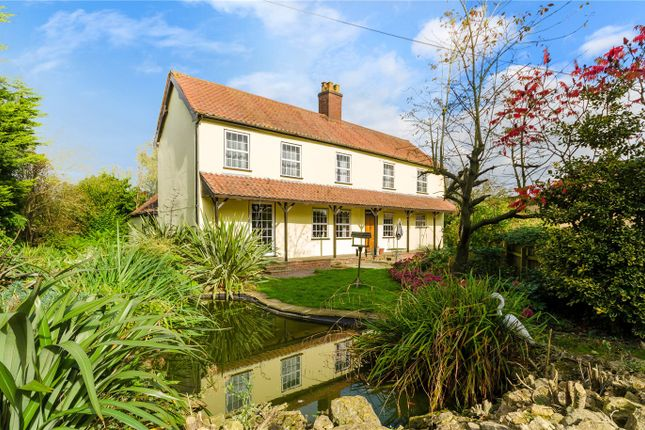 Thumbnail Detached house for sale in Cold Harbour, Grantham