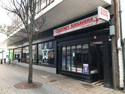 Retail premises to let in Saville Row, High Heaton, Newcastle Upon Tyne