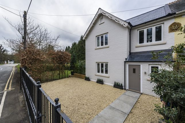 Thumbnail End terrace house to rent in Blacknest Gate Road, Ascot