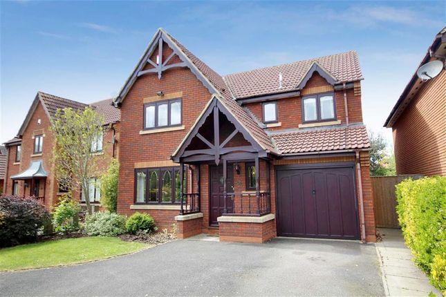 Thumbnail Detached house for sale in Juno Way, Rushy Platt, Swindon