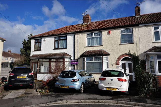 Thumbnail End terrace house for sale in Elbury Avenue, Kingswood