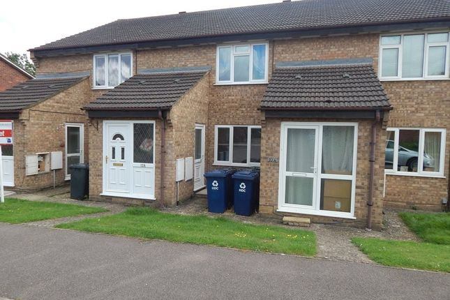 Thumbnail Flat to rent in Countess Close, Eaton Socon, St. Neots, Cambridgeshire