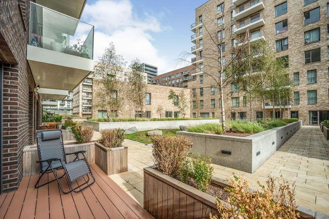 Rear Porch of 27 East Parkside, London SE10