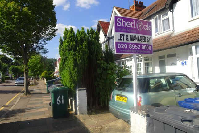 Thumbnail Property to rent in Fairfield Crescent, Edgware
